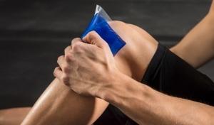 درمان درد شدید زانو به هنگام خم شدن به روش RICE
